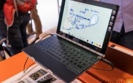 Lenovo может выпустить Yoga Book на Chrome OS
