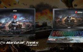MSI выпустила ноутбук для фанатов World of Tanks