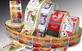 Самоклеющиеся этикетки популярны в торговле