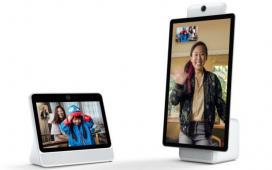 Facebook представила устройства для видеочатов Portal и Portal Plus