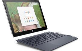 HP представляет съемный ноутбук Chromebook x2