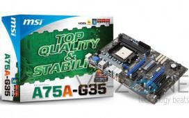 MSI анонсировала еще одну материнскую плату на чипсете A75