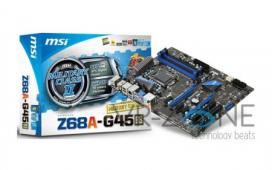 MSI представила материнскую плату Z68A-G45  на чипсете Intel Z68