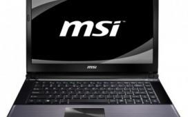 MSI представила компактные ноутбуки X460 и X460DX