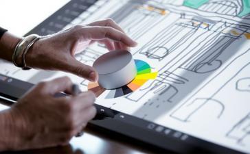 Microsoft представила манипулятор Surface Dial на замену мыши