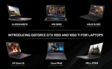 CES 2017: NVIDIA анонсировала GTX 1050 и 1050 Ti для ноутбуков
