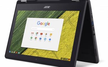 Acer представила хромбук-перевертыш Chromebook Spin 11 со стилусом