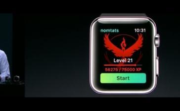 Pokemon Go приходят на Apple Watch