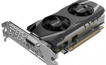 Компания Zotac показала видеокарты GeForce GTX 1050 и GTX 1050 Ti