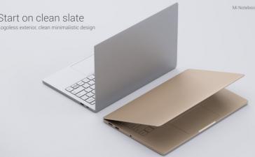 Mi Notebook Air стал первым ноутбуком Xiaomi