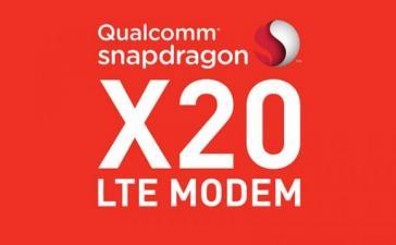 Qualcomm представила LTE-модем Snapdragon X20 со скоростью загрузки до 1,2 Гбит/с