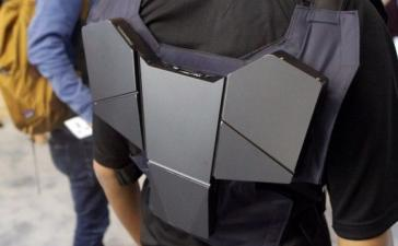 IDF 2016: Intel создала ПК-жилет для виртуальной реальности