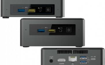 Intel переводит мини-ПК Baby Canyon NUC на Kaby Lake