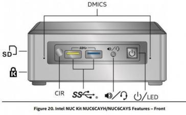 Intel рассекретила мини-ПК NUC на базе Apollo Lake
