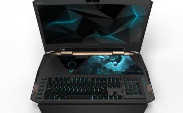 IFA 2016: 21-дюймовый Acer Predator 21 X стал первым в мире ноутбуком с изогнутым экраном