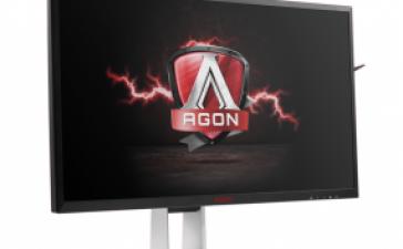 Игровой монитор AOC AGON AG271QG получил разрешение QHD и NVIDIA G-Sync