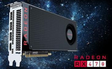 AMD выпустила видеокарту Radeon RX 470