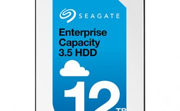 Seagate представила жесткий диск объемом 12 ТБ