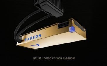 AMD анонсировала флагманскую графическую карту Radeon Vega Frontier Edition