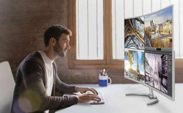 Philips выпускает самый большой 4К-монитор с изогнутым экраном