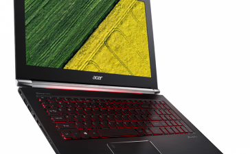 CES 2017: Тонкий игровой ноутбук Acer Aspire V Nitro получил новые процессоры и графику