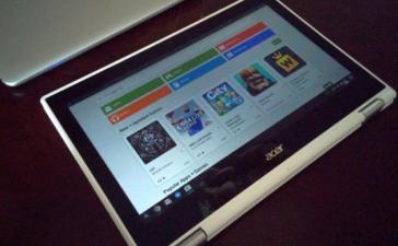 Хромбуки Acer R11 и Chromebook Pixel (2015) получили апдейт с Google Play