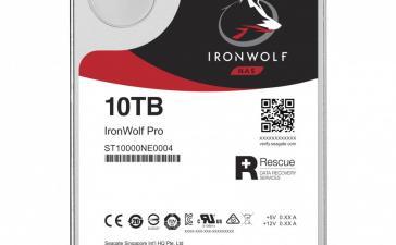 Seagate представила винчестер IronWolf Pro на 10 ТБ