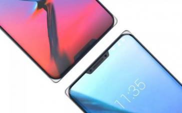 Новый концептуальный телефон ZTE имеет две выемки и четкие углы