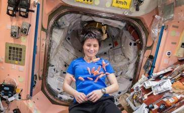 Ученые исследуют использование отходов космонавта, чтобы сделать космическую пищу