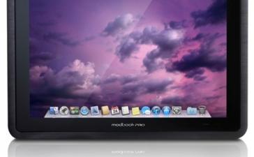 MacBook Pro в виде планшетного компьютера с поддержкой Mac и Windows