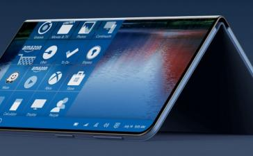 Похоже, в следующем году Microsoft выпустит сгибаемый планшет с функциями телефона