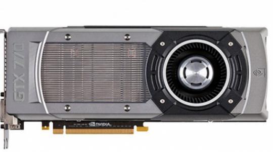 Видеокарта NVIDIA GeForce GTX 770 оказалась быстрее AMD Radeon HD 7970 GHz