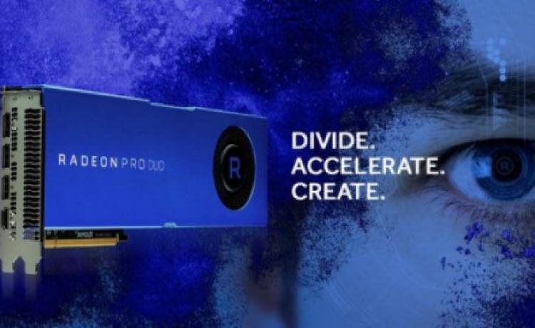 AMD  представила Radeon Pro Duo с двумя чипами Polaris