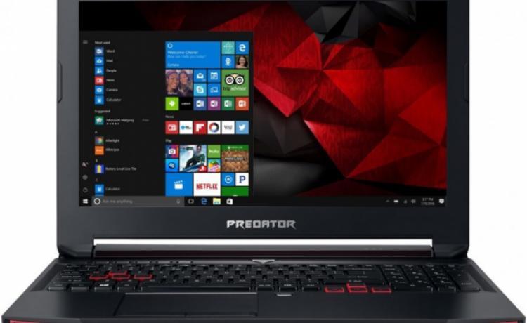 """Acer представила """"доступный"""" игровой ноутбук Predator Helios 300"""