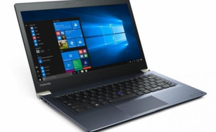 Toshiba выпускает килограммовый ноутбук Portege X30