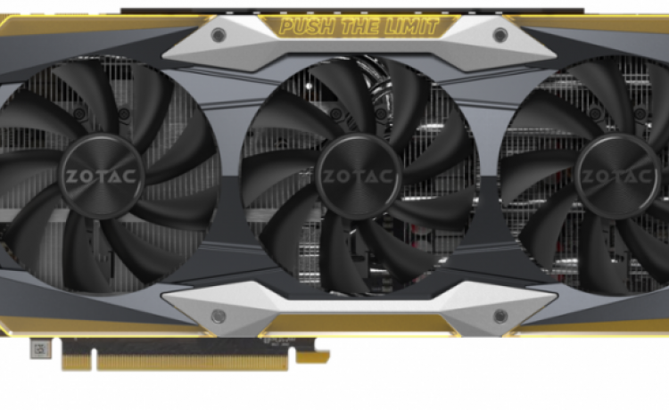 Zotac представила видеокарту GeForce GTX 1080 Ti AMP Extreme