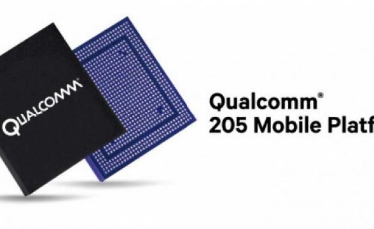 Qualcomm представила чип 205 Mobile Platform для недорогих 4G-телефонов