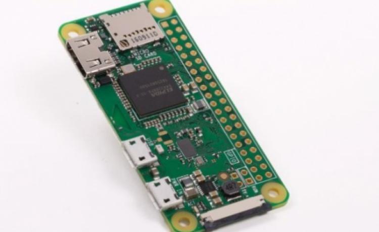 Десятидолларовый Raspberry Pi Zero W поддерживает Wi-Fi и Bluetooth