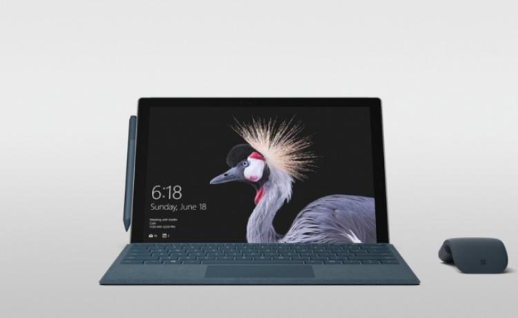 Новое поколение Microsoft Surface Pro представлено официально