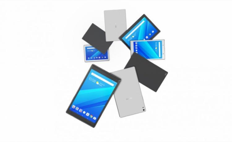 Lenovo представила «семейную» серию планшетов Tab 4