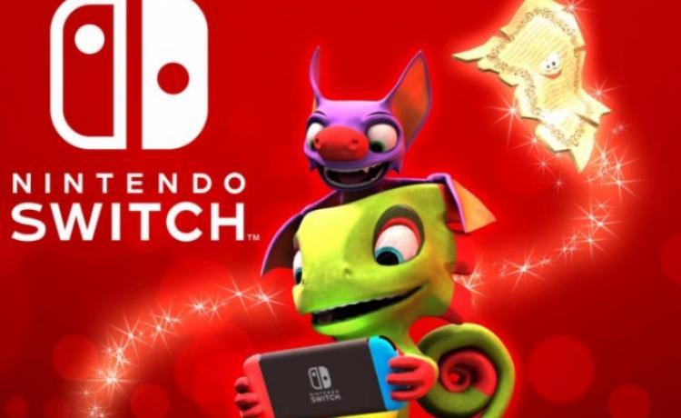 Игра «Yooka-Laylee» появится для Nintendo Switch 14 декабря