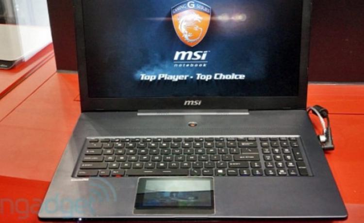 #сomputex | MSI показала игровой ноутбук с сенсорным дисплеем вместо трэкпада