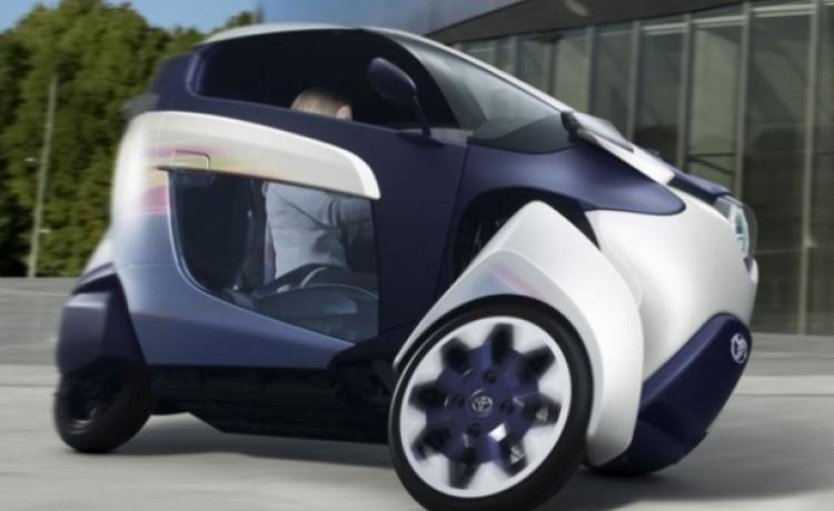Концепт электрического трицикла Toyota i-Road
