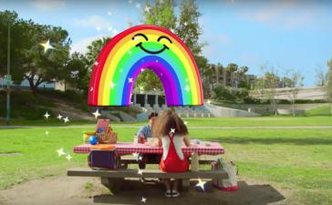 Snapchat запустил эмодзи дополненной реальности для видео