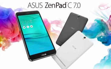 Обновленный планшет ASUS ZenPad C 7.0 базируется на процессоре Qualcomm