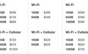 Apple убила  iPad на 16 ГБ