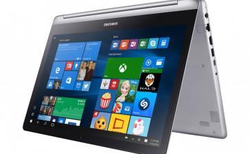 Samsung выпускает ноутбук-перевертыш Notebook 7 Spin