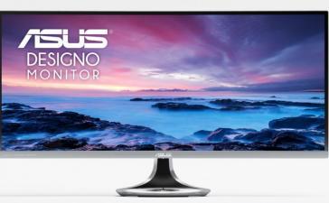 ASUS выпускает изогнутый монитор Designo Curve MX34VQ с беспроводной зарядкой