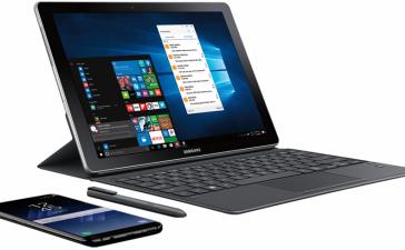 Samsung раскрыла цены на гибридный планшет Galaxy Book
