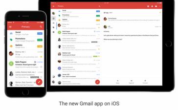 Google выпустила крупнейшее обновление Gmail для iOS за четыре года